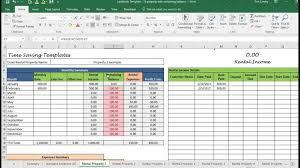 Rental Template Excel Rental Expenses Spreadsheet Landlord Template Demo Track