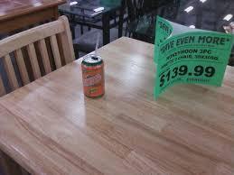 Table set from National liquidators