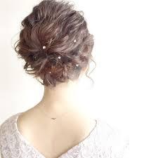 ボブヘアは結婚式にぴったりな髪型おすすめのヘアアレンジ集 Trill