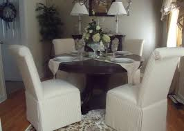 dining room parsons style chairs full size blue fauleather alliancemv reupholster carrington court your home customer