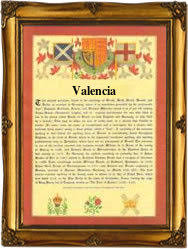 Sometimes the name valencia has been more popular as a girls name and sometimes it has been valencia's popularity has remained mostly unchanged for some time. Surname Database Valencia Last Name Origin