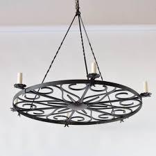 modern iron ring chandelier 1 500