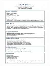 Example Of Resume For Fresh Graduate Information Technology Objective In Resume For Fresh Graduate Information Technology 2