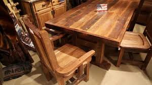 Barnwood Kitchen Table Harvest Barnwood Dining Table Farmhouse Reclaimed Table Youtube