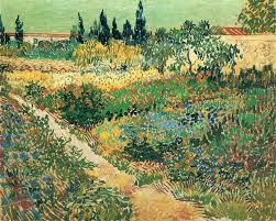 Garden with <b>Flowers</b>, 1888 - <b>Vincent</b> van Gogh - WikiArt.org