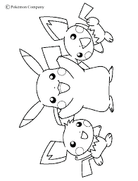 Pikachu Printable Coloring Pages At Getcoloringscom Free