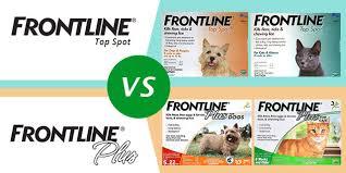 Frontline Top Spot Vs Frontline Plus Canadavetexpress