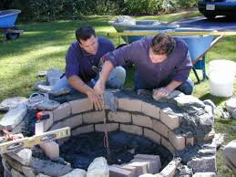 outdoor stone fire pit. Step 5 Outdoor Stone Fire Pit
