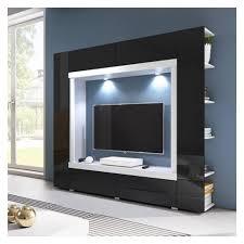 white or black furniture. TV WALL UNIT NOVEL WHITE OR BLACK GLOSSY FRONTS White Or Black Furniture