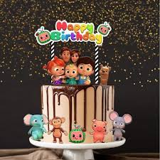 Find more awesome cocomelon images on picsart. 1set 12 Cocomelon Cake Topper For Birthday Party Celebration Babies Kids Babies Apparel On Carousell