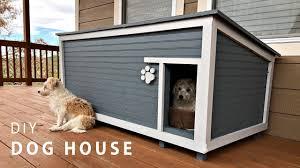 Homemade Dog House Designs Diy Insulated Dog House Build
