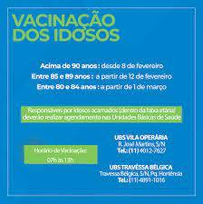 Notícia - Adiantamento Vacina dos Idosos - Prefeitura Municipal de Bom  Jesus dos Perdões