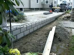 cinder block steps building stairs with retaining wall blocks cinder block retaining wall with best on retaining wall