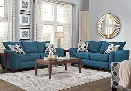 blue living room furniture sets. Bonita Springs 7 Pc Blue Mesmerizing Living Room Set Furniture Sets