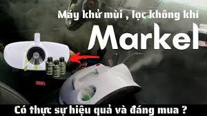Máy Khử Mùi & Diệt Khuẩn ô tô Markel khử sạch mùi hôi cứng đầu - YouTube