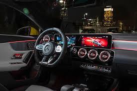 Mercedes reveals their entry level customer racing car ist der mercedes cla 45 amg racing series die steilvorlage für einen cla 45 amg black series? 2021 Mercedes Amg Cla 35 Interior Photos Carbuzz