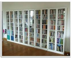 decoration most popular bookcases with glass doors bookshelf new tall bookcase drawers door