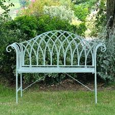 vintage wrought iron garden furniture. Wrought Iron Garden Bench Seat Wood And Metal Benches For Chair Vintage Furniture