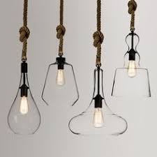 view bench rope lighting. Interesting Lighting Modern Simple Glass Shade Mini Pendant Light Hemp Rope Hanging Ceiling  Fixtures In View Bench Lighting A