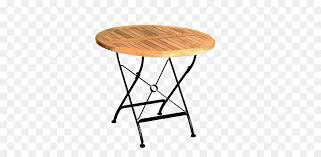 table wood teak garden metal round wooden table