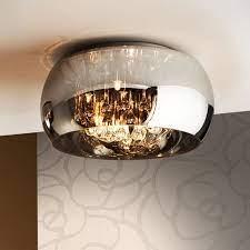 5 light chrome ceiling flush fitting