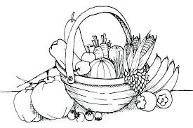 Collection Of Fruit And Vegetable Coloring Pages Download Them