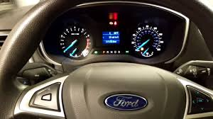 Ford Fusion Oil Light Reset 2016 Ford Fusion Oil Life Reset