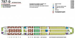 Boeing Dreamliner Seating Chart Qantas Fleet Boeing 787 9 Dreamliner Details And Pictures
