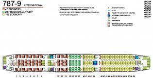 787 Dreamliner Seating Chart Qantas Fleet Boeing 787 9 Dreamliner Details And Pictures