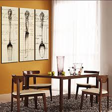 contemporary art in the modern canvas art painting wall hanging painting big abstract paintings 3 1 set fork spoon knife kitchen food cooking kitchen  on kitchen fork knife spoon wall art french painting with luckydonkey rakuten global market contemporary art in the modern