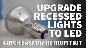 how to install retrofit led lights 4 inch kit dimmable led recessed lighting sunco 3000k 5000k