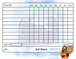 Biblical Behavior Chart Parenting Behavior Charts Scenes From The Bible Kid Pointz