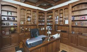 custom home office furniture. Ohio Hardwood Home Office Cabinets Schlabach Wood Design Regarding Custom Furniture Decorations 7 H