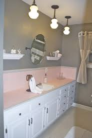 Pink Tile Bathroom, I am def going to implement these ideas to