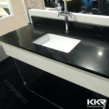 amazing bathroom sink countertop one piece kitchen sinks black rectangle modern granite one piece kitchen sink