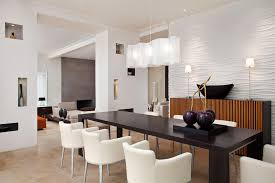 image of large modern dining room light fixtures