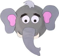 How To Make Face Mask From Chart Paper Paper Plate Elephant Craft