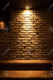 Image Accent Old Type Brick Wall Texture Front Face And Sofa With Local Lighting Stock Photo 50278514 123rfcom Old Type Brick Wall Texture Front Face And Sofa With Local Lighting