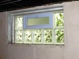 glass block basement windows install rochester ny