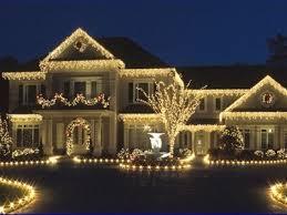 white christmas lights house. Perfect House All White Icicle Lights Night Lights Outdoors House Decorate Display  Christmas Throughout Christmas House