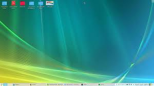 Windows Vista had a nice Wallpaper ...