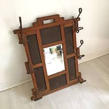 Antique Coat Rack For Sale Simple Vintage Coat Rack With Mirror 32s For Sale At Pamono
