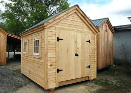 gable custom exterior 8x10 storage building shed plans free series