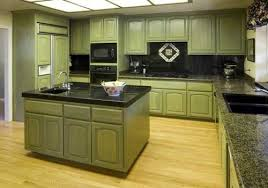granite countertops in kitchen cabinet paint color to go with green black counter top google
