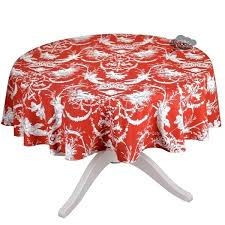 red round tablecloth round cotton french red tablecloth i dream of