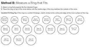 Mens Ring Size Print Out Foto Ring And Wallpaper