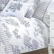 red toile duvet cover queen toile de jouy duvet cover blue on the image below