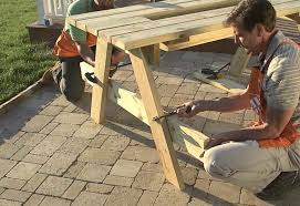 Magnificent Kid Picnic Table Plans And Ana White Build A Bigger How To Make Picnic Bench