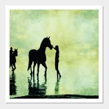 on horse silhouette wall art with horse silhouette wall art teepublic