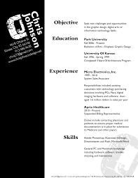 Graphic Design Objective Resume Resume For Your Job Application